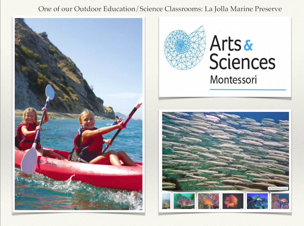 Arts & Sciences Montessori Outdoor Education (Kayaks)