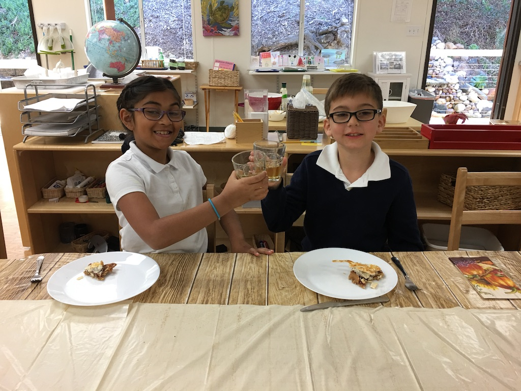 Elementary Harvest Lunch 2016