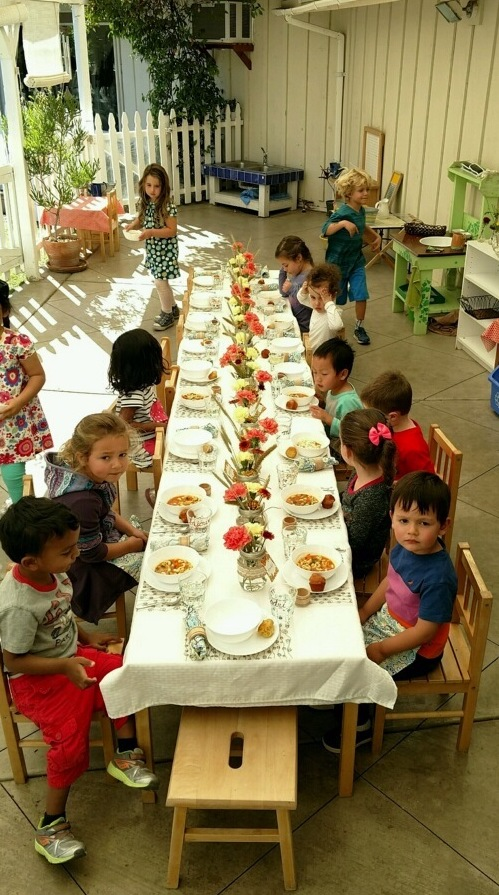 Primary I Harvest Lunch 2016